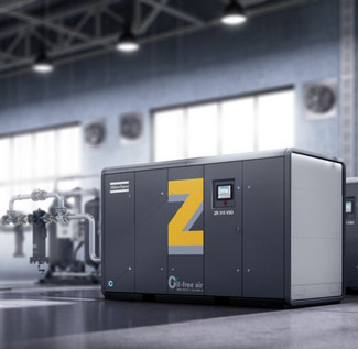 Ölfrei verdichtende ZR- und ZT (VSD)-Drehzahn- und Schraubenkompressoren