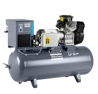 LF - ölfreie Kolbenkompressoren aus Aluminium
