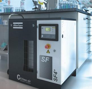 SF und SF+ - Ölfrei verdichtete Scrollkompressoren